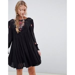 Free People Embroidered Mohave Dress